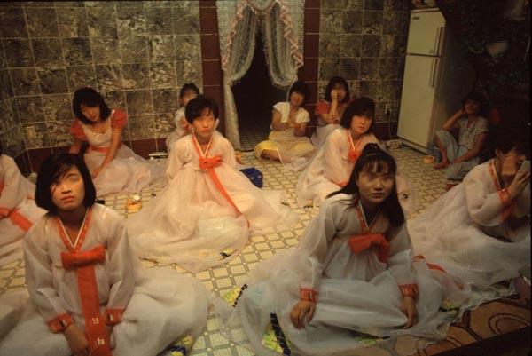 韓国風俗ミアリお客様のチョイスを待っている女の子